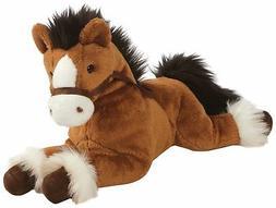 GUND Fanning Palomino Horse Laying Down Stuffed Animal Plush