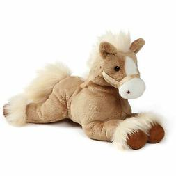Gund Fanning Tan Palomino Horse Laying Down Stuffed Animal P