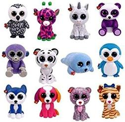 TY Mini Boo Figures SERIES 2 - COMPLETE SET OF 12 -