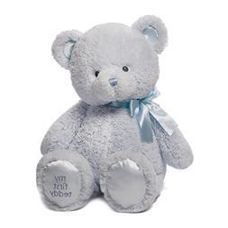 Baby GUND My First Teddy Bear Stuffed Animal Plush, Blue, 24