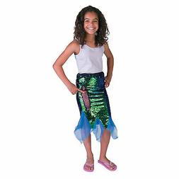 Flipping Sequins Mermaid Skirt - Small - Apparel Accessories