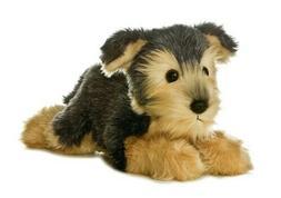 Aurora Flopsie 12 inch Yorky Plush Dog