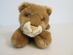 Aurora Flopsies Tawny Lion Cat Plush Stuffed Animal Beanie N