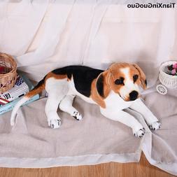 <font><b>large</b></font> 58cm lovely prone beagle plush toy