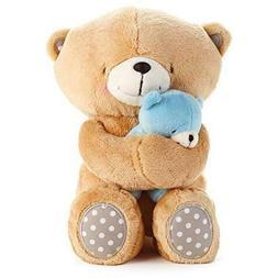 Hallmark Forever Friends Boy Snuggle Bear Set