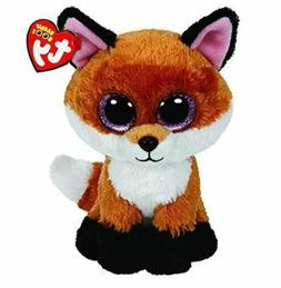 Fox 6 Ty Beanie Boos Whiskers Puppy Big Glitter Eyes Plush S