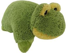Frog Zoopurr Pets 19 inch Large, 2 in 1 Stuffed Animal and P