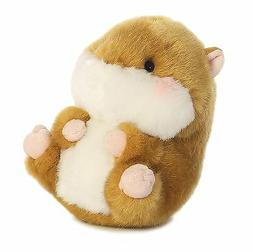 5 Inch Frolic Hamster Rolly Pet Plush Stuffed Animal by Auro