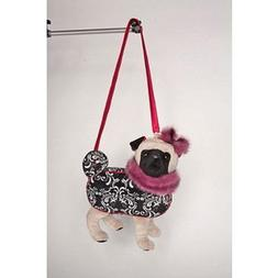 """Furry Couture Piper Black Lab 11"""" by Douglas Cuddle Toys"""