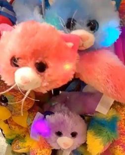 "Fursian ""Light Up"" Cats  Super Plush Stuffed Animals/Toys  N"