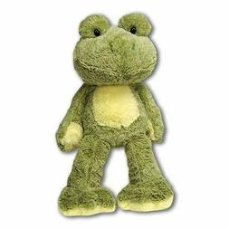 fuzzy folk sitting frog plush