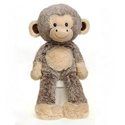"Fiesta Toys Fuzzy Folk Bean Bag 16"" Monkey Harold Animal Plu"