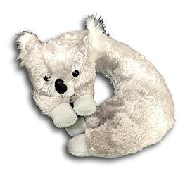 Legends Fuzzy Friends Childrens Neck Travel Pillow Gray Koal