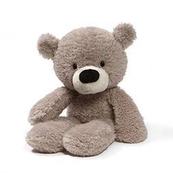 "GUND Fuzzy Teddy Bear Stuffed Animal Plush, Gray, 13.5"""