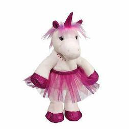 Douglas Cuddle Toys Gabi White Unicorn with Purple Tutu