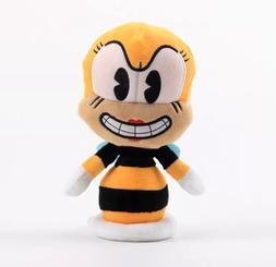 Game Cuphead Mugman Bee RUMOR HONEYBOTTOMS Stuffed Animals P