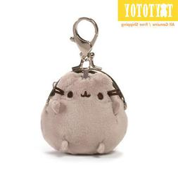 "Genuine 4059095 GUND Pusheen Coin Purse 3"" Plush Toy Stuffed"