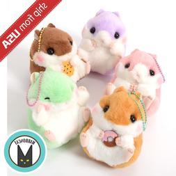 Genuine Japan Amuse Coroham Coron Cafe Hamster Ball Chain Pl