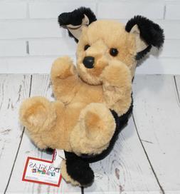 """German Shepherd Stuffed Animal 9"""""""