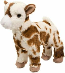 "Douglas Gerti GOAT 9"" Plush Stuffed Farm Animal Cuddle Toy N"