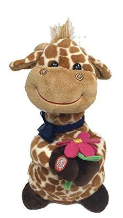 The Petting Zoo Get Well Soon Standing Templeton Giraffe