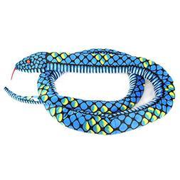 """Giveme5 Giant Anaconda Snake Plush Stuffed Animal Toy 66"""" Lo"""