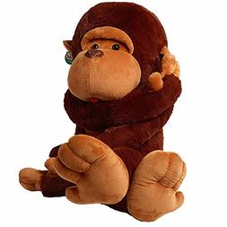 """Minibaby Giant 30"""" /75CM Big Plush Monkey Embrace Extremely"""