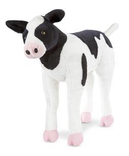 Melissa & Doug Giant Calf - Lifelike  Stuffed Animal Baby Co