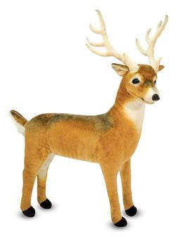 Melissa & Doug Giant Deer - Lifelike Stuffed Animal