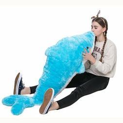 MorisMos Giant Dolphin Stuffed Animal Plush Toy Gift