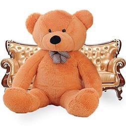 WOWMAX 6 Foot Light Brown Giant Huge Life Size Teddy Bear Cu
