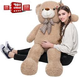 "Giant Plush Teddy Bear 39"" Stuffed Animal Soft Toy Huge Larg"