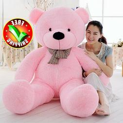 Giant Plush Teddy Bear Stuffed Animal Soft Toy Girls Valenti