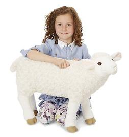 Melissa & Doug Giant Sheep - Lifelike Stuffed Animal nearly