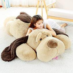 MaoGoLan Giant Stuffed Puppy Dog Big Plush Extra Large Stuff