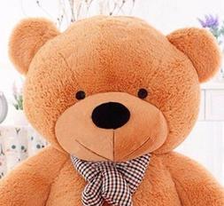 "Joyfay® 63"" 160cm 5 ft Giant Teddy Bear Stuffed Plush Toy V"