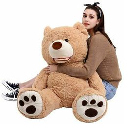 Giant Teddy Bear With Big Footprints Plush Stuffed Animals L
