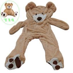 """Light 63"""" 5.2 Feet Giant 160 cm Unstuffed Teddy bear Large P"""