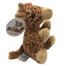 Giraffe Stuffed Animal Lil' Buddies By Fiesta 5 Inch Bean