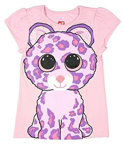 2a7917f5809 TY Beanie Boo Girls  Glamour The Leopard T-Shirt