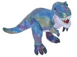 Wild Republic Glitter Dinosaurs T-Rex Plush Stuffed Animal T