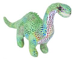 Wild Republic Glitter Dinosaurs, Diplodocus Plush, Dinosaur