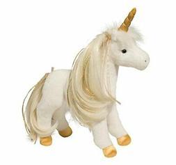 12 Inch Golden Princess Unicorn Plush Stuffed Animal by Doug