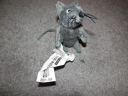 "IKEA Gosig Mus Small Gray Stuffed Plush Mouse Rat 5"" NEW FRE"