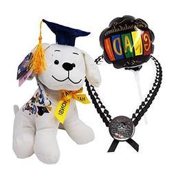 Graduation Stuffed Animal Bundle Set: Adorable Plush Dog Toy