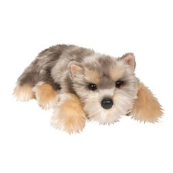 "Douglas Graham YORKIE 13"" Lying Floppy Plush Dog Yorkshire T"