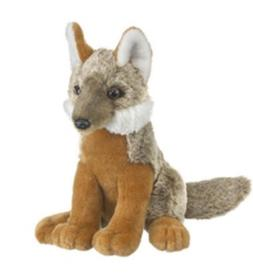 Wild and Wonderful Gray Fox Pup Plush Stuffed Animal From Wi