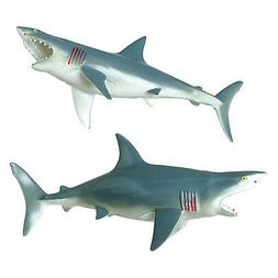 U.S. Toy Great White Shark Squeaky Bath Tub Toy