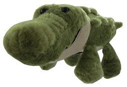 """The Petting Zoo 11"""" Green Alligator"""