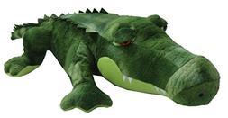 """The Petting Zoo 22"""" Green Alligator"""
